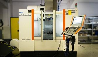 CNC Bearbeitungszentrum, GF AgieCharmilles Mikron VCE800Pro-X